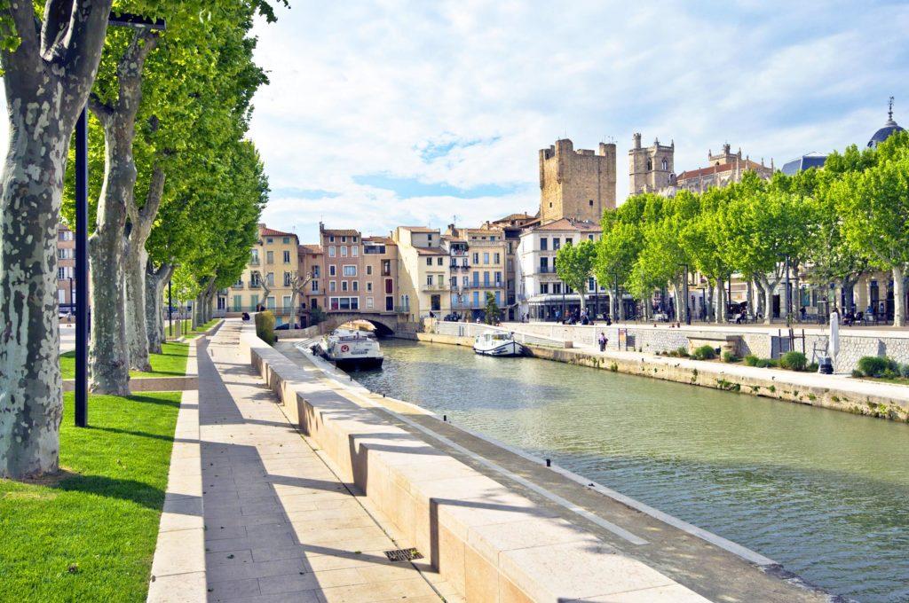 Canal de la Robine hôtel la résidence narbonne